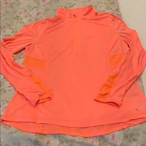 Danskin Now Half-zip pullover-size Large